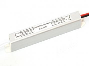 Блок живлення 1.5А, 18Вт, 12В MTK-18-12