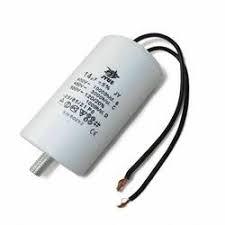 Конденсатор рабочий JYUL 10 мкф - 450 VAC (35х60 mm) DB