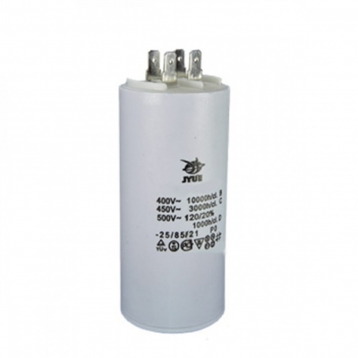 Конденсатор робочий JYUL 100 мкф - 450 VAC (60х120 mm) K