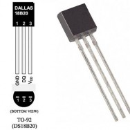 Датчик температури цифровий DALLAS DS18B20