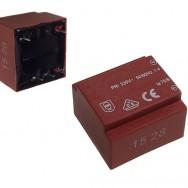 Трансформатор залитий 0.5VA 230V/6V 83mA  TR Z00.50/06b II